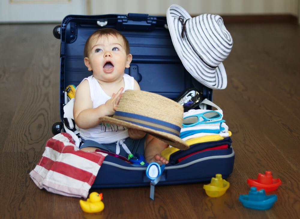 primer vuelo con tu bebé, 6 consejos para el primer vuelo con tu bebé